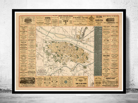 Old,Map,of,Zaragoza,Saragossa,Spain,1883,Vintage,map,antique map, vintage map, old map, vintage poster, Saragossa,Saragossa poster,  Saragossa  map,Art,Reproduction,Open_Edition,vintage_map,city_plan,old_map,zaragoza_map,map_of Saragossa ,cataluna,spain,old_map_of_toledo,guia_de_zaragoza,Saragossa _poster,S