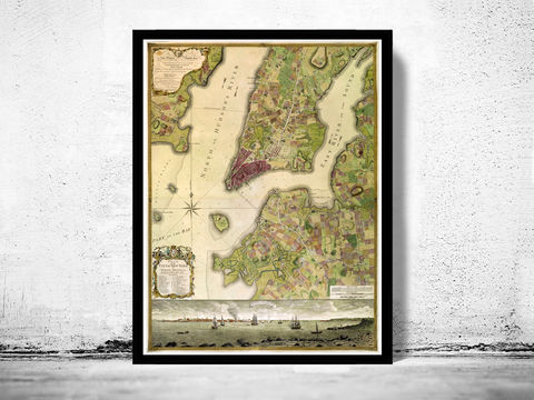 Old,Map,of,New,York,1770,, Manhattan  , new york  , old map , vintage map  × new york map  × manhattan map × antique map  × new york poster  , manhattan poster , brooklyn vintage  , brooklyn map  , ny map, new york poster, ny poster, map of new york, new york map