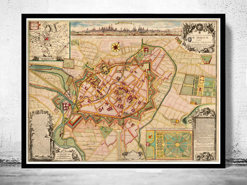 Old,Map,of,Dijon,1730,Art,Reproduction,Open_Edition,vintage,gravure,vintage_map,France,french art, maps for sale, buy map, dijon France, dijon, dijon map, map of dijon, dijon poster,france_map, , old maps for sale, maps reproductions