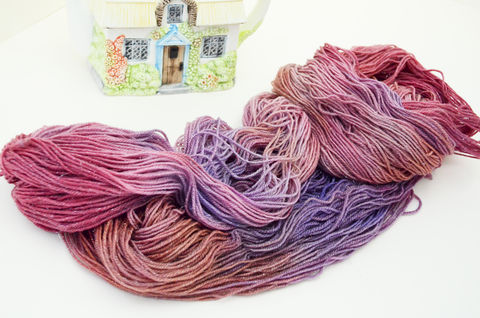 Ladies,Tea,at,Downton,~Downton,Abbey,Inspired,yarn, millspun, Bee-inspired, handdyed, kettle dyed, Downton, sparkle