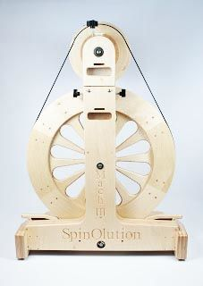 Mach,III,by,Spinolution,Mach III Spinning Wheel, Spinolution