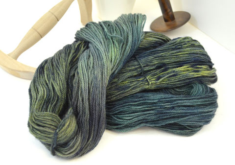 Mirkwood,~,Hobbit,Inspired,Yarn, yarn, superwash, handdyed, kettle dyed, Mirkwood, middle earth