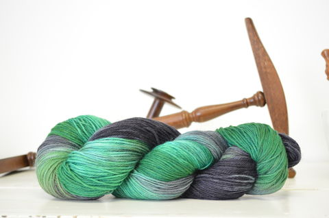 Salazar,Slytherin,~,Harry,Potter,Inspired,Yarn,yarn, Hand dyed, kettle dyed, Harry Potter, Salazar Slytherin