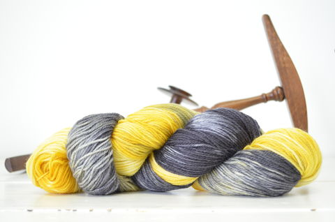 Helga,Hufflepuff,~,Harry,Potter,Inspired,Yarn,yarn, Hand dyed, kettle dyed, Harry Potter, Helga Hufflepuff