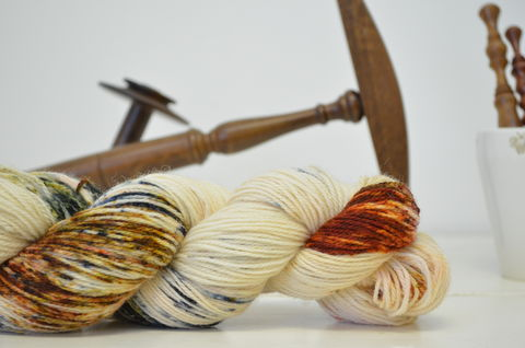 Dragonfly,in,Amber,~,Outlander,Inspired,Yarn, Dragonfly in Amber, yarn, hand dyed, kettle dyed