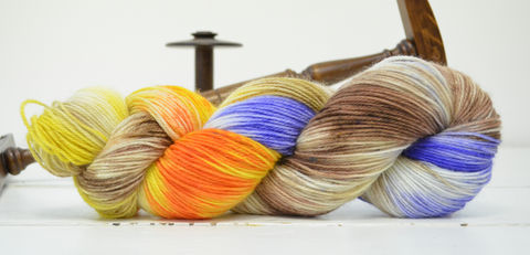 Egg,Shen,~,Big,Trouble,in,Little,China,Inspired,Yarn,yarn, Hand dyed, kettle dyed, Egg Shen, Big Trouble in Little China