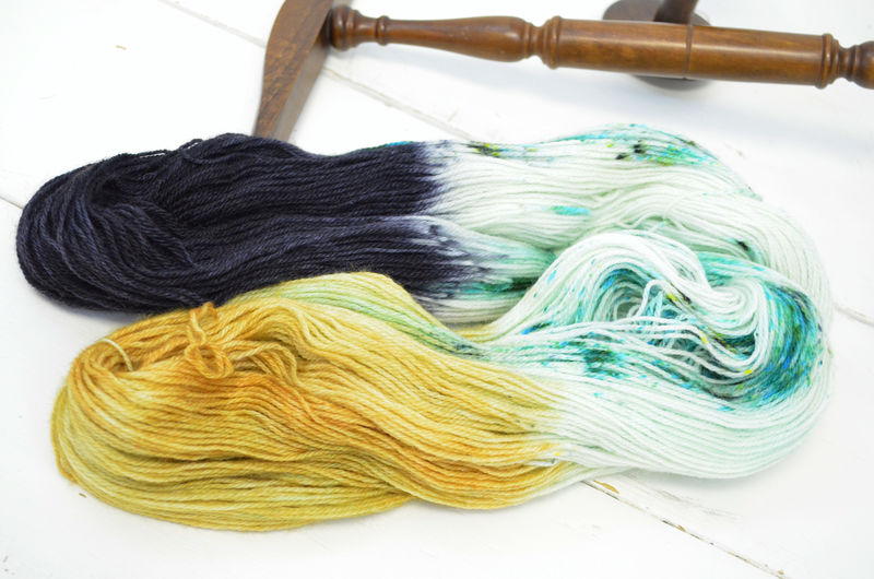 Girl with the Green Eyes ~ Big Trouble in Little China Inspired Yarn - product image