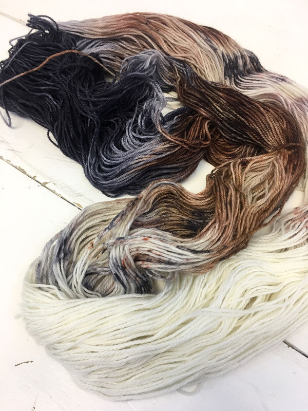 Direwolves ~ Game of Thrones Inspired Yarn - product image