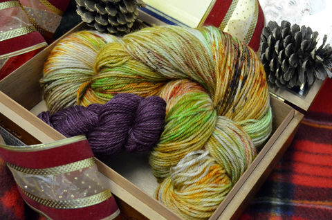 Hagrid's,Fruitcake,Holiday,Sock,Box!,Preorders,OPEN!!,Harry potter yarn, Hogwarts yarn, magical yarn, inspired yarn, geek yarn, nerdy yarn,  Hogwarts house , Hagrid's Fruitcake, patterns, knitting, scarf pattern, knit scarf pattern, harry potter scarf, harry potter, harry potter knits, harry potter sock ya
