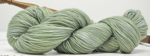 Sweet,Grass,yarn, hand dyed, wool