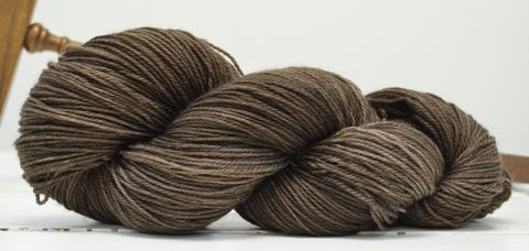 Black,Walnut,yarn, hand dyed, wool