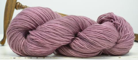 Rose,Water,yarn, hand dyed, wool
