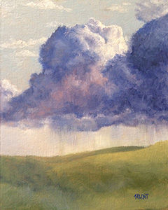 Landscape,Clouds,Original,Oil,Painting,on,Canvas,,Thunder,Rolls,landscape, green, blue, purple, orange, diane hunt studio, clouds, art, painting, oil painting, original, cloudscape, Diane Hunt