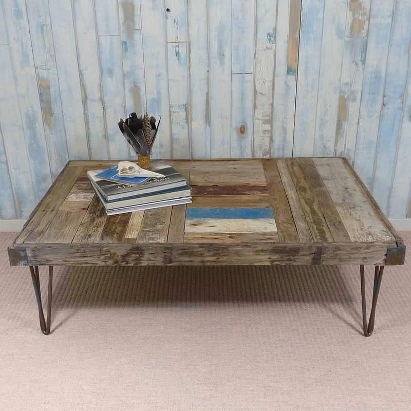Coffee Table Made From Driftwood: Whale Wharf Driftwood Coffee Table