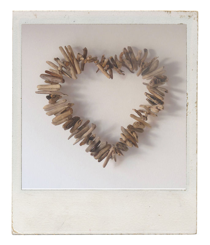 Driftwood Twig Heart - product images  of