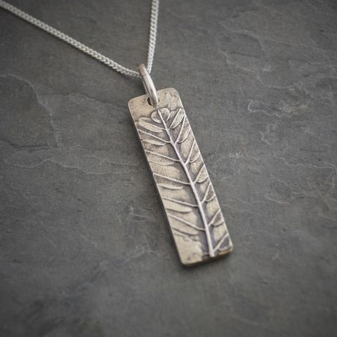 Leaf,Pendant,on,Sterling,Silver,Chain,,Kansas,Prairie,Lead,Plant,leaf necklace, sterling silver necklace, lead plant necklace, kansas prairie grass necklace, kansas wildflower necklace, gayle dowell, botanical necklace, nature inspired necklace, plant necklace, flint hills necklace, midwest necklace, plains necklace, K