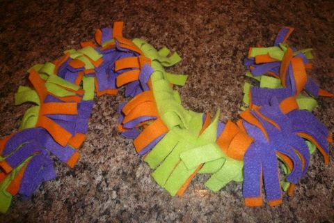 Fringe,Fleece, Scarf, Fleece, Festive, Halloween, Mardi Gras