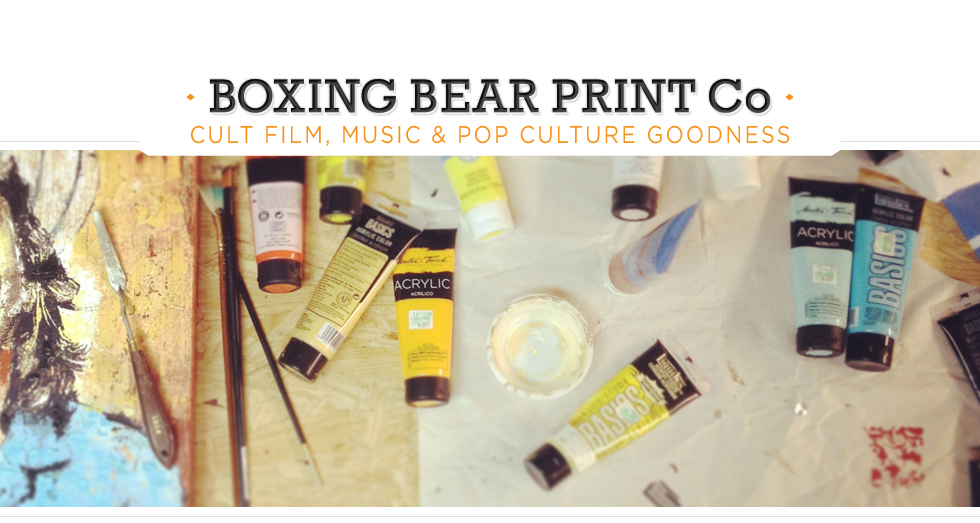 Boxing Bear Print Co.