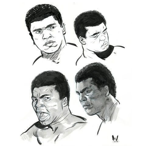 Ali,|,Original,Drawing