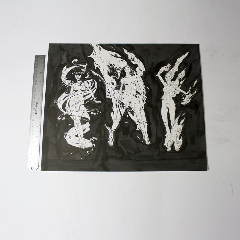 Demons 3 | Original Drawing - product images  of