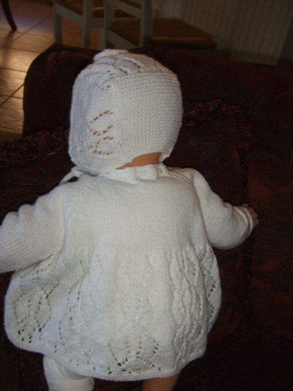 Pattern To Knit For Babies Sweater Jacket Hat That Will Also Match
