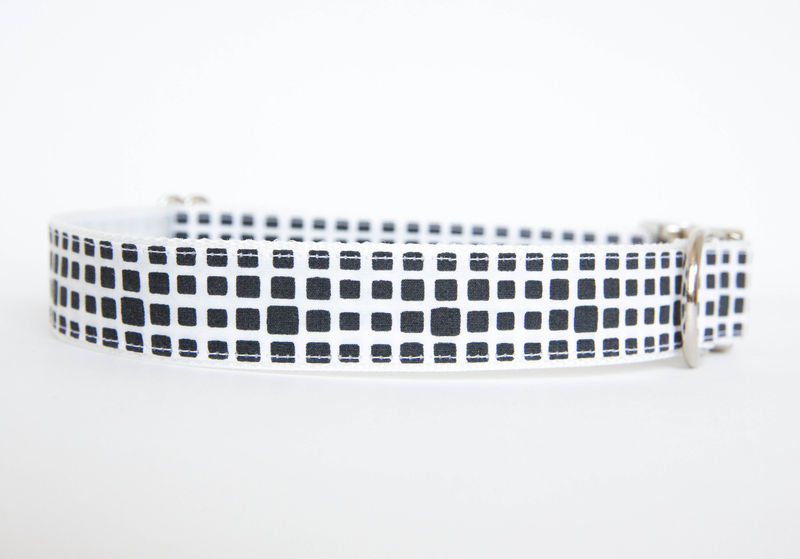 Happy Racquet Dog Collar in Graphite - product images  of