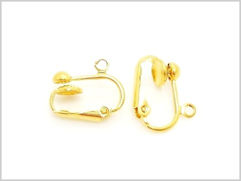 Yellow,Gold,Plated,Ear,Clip,Yellow Gold, Ear Clip, Gold Plate, Plated