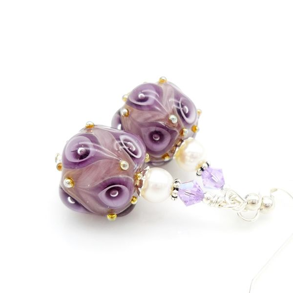 Purple Earrings - product images  of