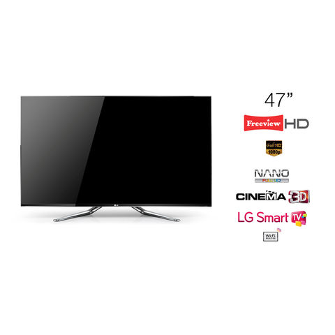 LG,47,NANO,LED,TV,Cinema,3D,Full,HD,1080p,Smart,47LM960V,-,Grade,A,Manufacturer,Refurbished,LG 47LM960V, 47 TV, 47 inch Television, KC Sound and Vision, Cheap TV, Cheap Television, Refurbished TV, LG Televisions, Full HD, LED, 1080p, Freeview HD, Cinema 3D, LG Smart TV