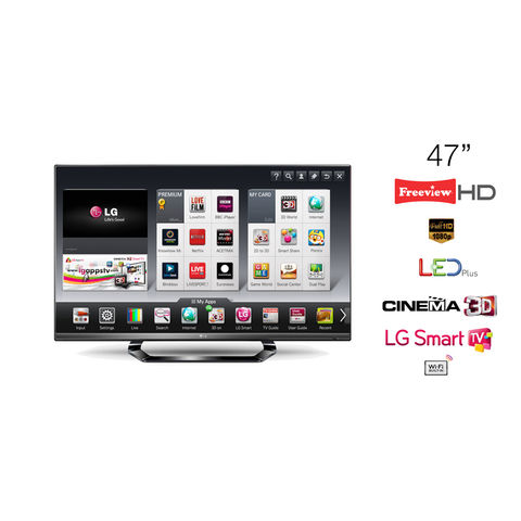 LG,47,LED,TV,Cinema,3D,Full,HD,1080p,Smart,47LM640T,-,Grade,A,Manufacturer,Refurbished,LG 47LM640T, 47 TV, 47 inch LED Television, 47 Smart TV, KC Sound and Vision, Cheap TV, Cheap Television, Refurbished TV, LG Televisions, Full HD, LED, 1080p, Freeview HD, Cinema 3D, LG Smart TV
