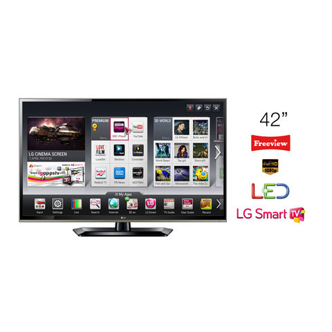 LG,42,LED,TV,Full,HD,1080p,Smart,42LS570S,-,Grade,A,Manufacturer,Refurbished,LG 42LS570S, 42 TV, 42 inch Smart TV, KC Sound and Vision, Cheap TV, Cheap Television, Refurbished TV, LG Televisions, Full HD, LED, 1080p, Freeview HD TV, Smart TV