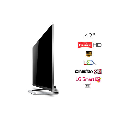LG,42,LED,Plus,TV,Cinema,3D,Full,HD,1080p,Smart,42LM760T,-,Grade,A,Manufacturer,Refurbished,LG 42LM760T, 42 TV, 42 inch Television, KC Sound and Vision, Cheap TV, Cheap Television, Refurbished TV, LG Televisions, Full HD, LED Plus, 1080p, Freeview HD, Cinema 3D, LG Smart TV