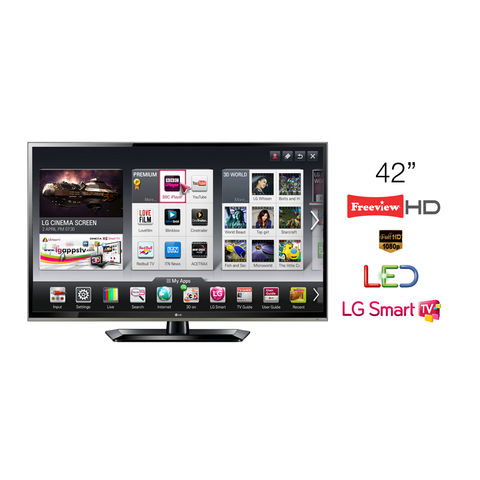 LG,42,LED,TV,Full,HD,1080p,Smart,42LS570T,-,Grade,A,Manufacturer,Refurbished,LG 42LS570T, 42 TV, 42 inch Smart TV, KC Sound and Vision, Cheap TV, Cheap Television, Refurbished TV, LG Televisions, Full HD, LED, 1080p, Freeview HD TV, Smart TV