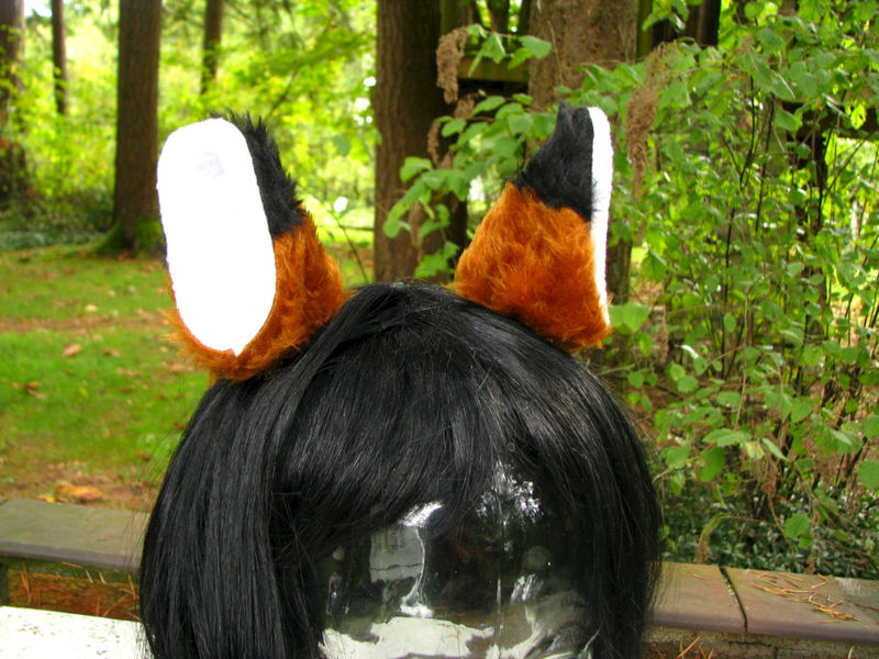 Brown Fox Ears Faux Fur Fox Ear Hair Clips - product image