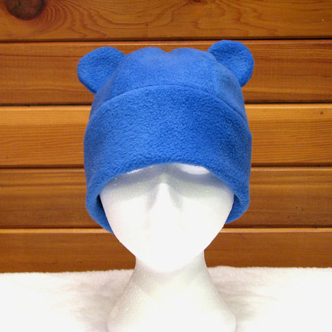 Gummy,Bear,Hat,-,Blue,Fleece,Animal,Accessories,Beanie,animal_hat,animal_fleece_hat,bear_hat,gummy_bear,beanie,royal_blue,fleece_hat,geek_hat,rave_hat,kawaii_hat,animal_ear,costume,bear_ear,fleece