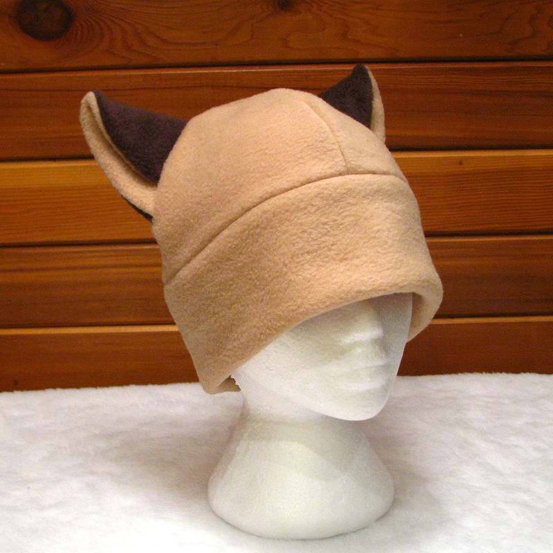 Brown Siamese Cat Hat - product image