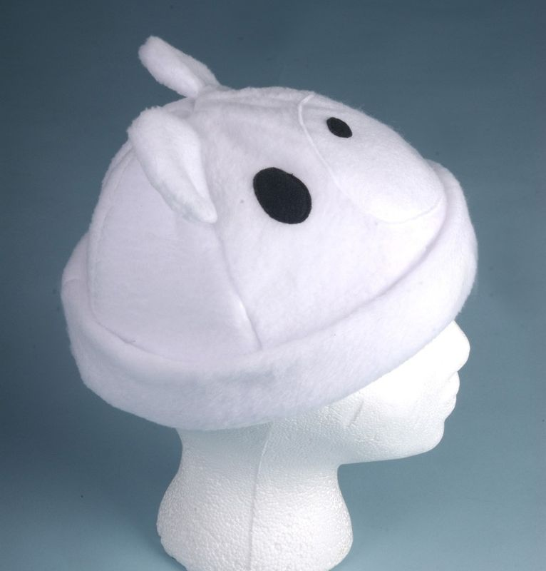 White Polar Bear Hat - product image
