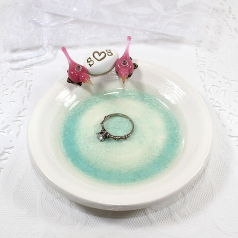 Personalized,Love,birds,ceramic,ring,bearer,dish,with,initials,Personalized Love birds, ceramic ring bearer dish with initials, Personalized ceramic ring bearer dish with initials, Personalized ring bearer dish with initials, Personalized ring bearer dish, Personalized birds ring bearer dish, Personalized wedding rin