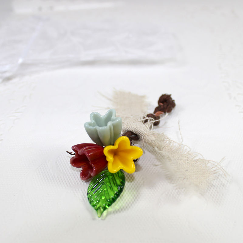 Custom Woodland flower Boutonniere, groom's wedding lapel pin - product images  of