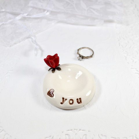 Love,you,red,flower,wedding,ring,holder,,engagement,dish,Ceramics_And_Pottery,Bowl,Decorative,Ring_Dish,Ceramic_Ring_Holder,Wedding_Favor,Ring_Holders_Dish,Pottery_Bowl,Pottery_Ring_Holder,Clay_Ring_Dish,Wedding_Ring_Holder,Love_You,Red_Flower,Engagement_Ring_Dish,Jewelry_Holder,Valentines_Day,clay,glaze,brass