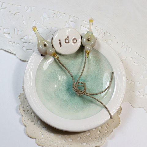 Personalized,'i,do',love,birds,ring,bearer,plate,,pillow,alternative,Personalized ring bearer plate, Personalized ring bearer pillow alternative, ring bearer pillow alternative, wedding ring bearer, ring bearer dish, customized, love birds wedding,  i do love birds ring bearer plate