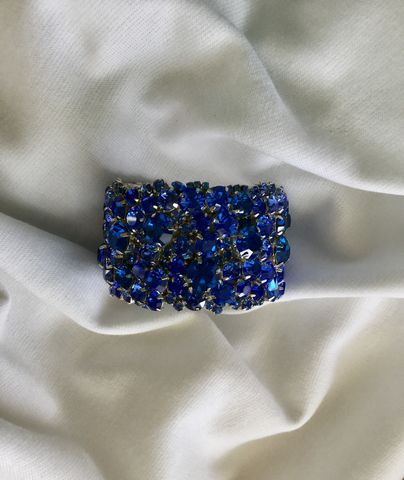Royal,Blue,Swarovski,Crystal,Bridal,Cuff,Bracelet,Royal blue cuff, Weddings,Jewelry,rhinestone_cuff,Crystal_cuff,wedding_cuff,wedding_bracelet,statement_cuff,chunky_cuff,Crystal_bracelet,Wide_bracelet,Bridal_cuff,Blue_bridal_cuff,Blue_bridal_bracelet,midnight_blue,dark_blue_cuff,swarovski crysta