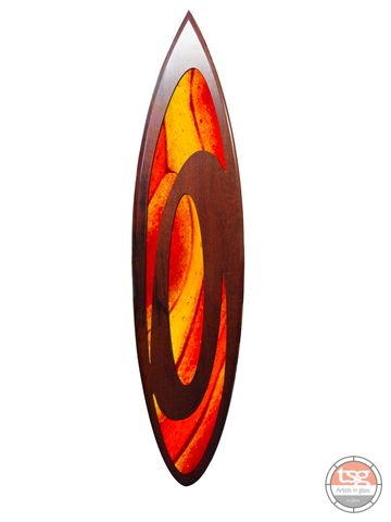 Art,Glass,Jarrah,Surfboard,04,fused glass, surfing, surfboards, Western Australian Art