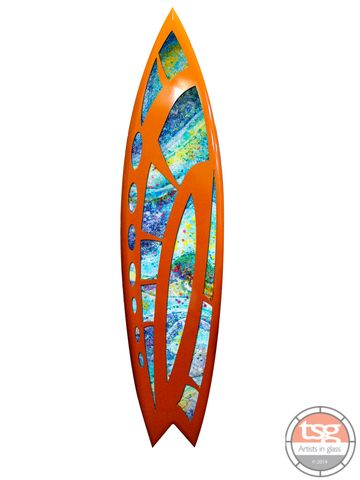 Art,Glass,Surfboard,16,fused glass, surfing, surfboards, Western Australian Art