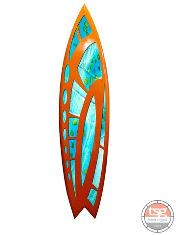Art,Glass,Surfboard20,fused glass, surfing, surfboards, Western Australian Art