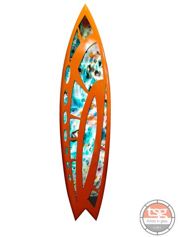 Art,Glass,Surfboard,21,fused glass, surfing, surfboards, Western Australian Art
