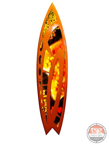 Art,Glass,Surfboard,28,fused glass, surfing, surfboards, Western Australian Art