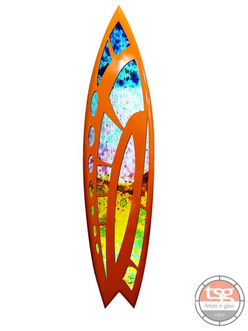 Art,Glass,Surfboard,30,fused glass, surfing, surfboards, Western Australian Art