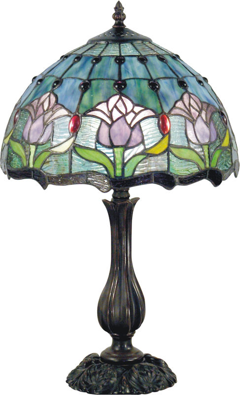 MAUVE TULIP SMALL LAMP - product images
