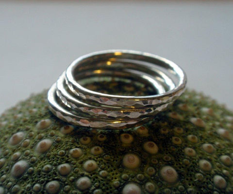 Silver,Stacking,Ring,Set,Hammered,Sterling,Simply,Shiny,of,Three,Jewelry,sterling_stacker_set,silver_stacker_set,stackable_ring_set,stackable_rings,sterling_silver_set,hammered_stacker,hammered_ring_set,shiny_ring,single_ring_band,single_silver_ring,simple_sterling_ring,silver_stacking_set,sterling_silver